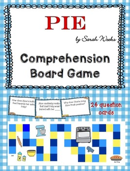 PIE Comprehension Board Game