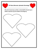 PIE Hearts (Persuasive, Informative, Entertaining) activit