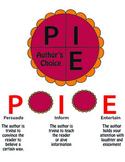 PIE author's purpose