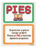 Choosing the right book / PIES : Como escoger un libro.