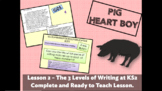 PIG HEART BOY 2 - Writing Assessment in Year/Grade 6 - Com