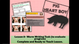 PIG HEART BOY - Grade 5/6 - LESSON 8 - WARM TASK TO EVALUA