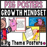 Growth Mind Set Posters with PIG Theme