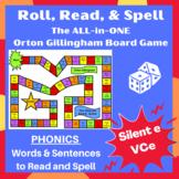 Ultimate Silent e (Vce) Orton word list cards, sentences,