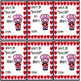 Valentine Day Cards for Students and Classmates