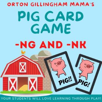 PIG ng and nk card game