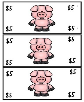 Pig Theme Reward and Classroom Management  for Character Education