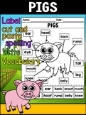 PIGS - Unit Study and Story Helpers