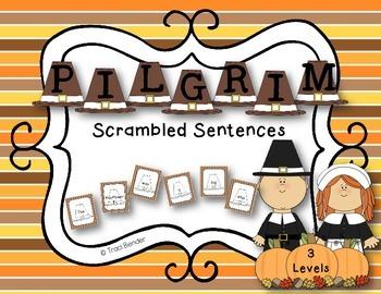 PILGRIM Scrambled Sentences