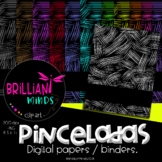 PINCELADAS DIGITAL PAPERS / BINDERS