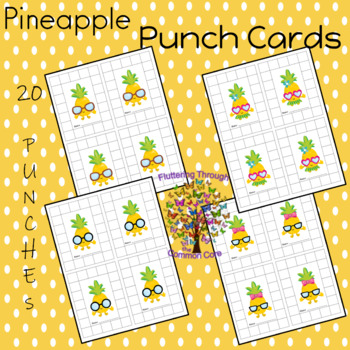 PINEAPPLE PUNCH CARDS Classroom Management