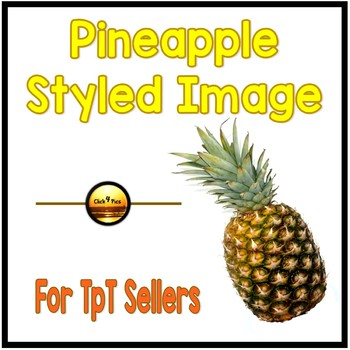 PINEAPPLE Styled Image for Commercial Use