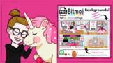 PINK FASHIONISTA  BITMOJI Backgrounds - Virtual Classroom
