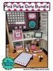 PINK Classroom Decor POLKA DOT, EDITABLE