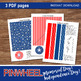 PINWHEEL - 4th of July / Memorial Day- DIY Patriotic Weekend! - Instant Download