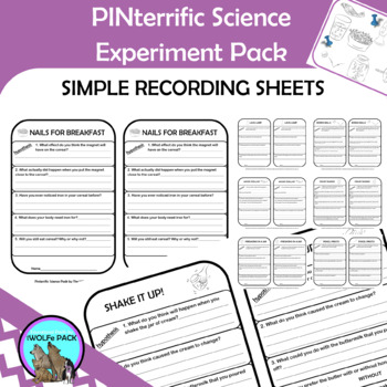 PINterrific Science Bundle {8 simple and fun experiments}