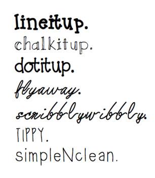 PIP Font Bundle