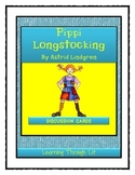 PIPPI LONGSTOCKING by Astrid Lindgren - Discussion Cards