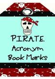 P.I.R.A.T.E. Acronym Book Marks