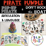 PIRATE BUNDLE, POP-UP PIRATE & DON'T ROCK THE BOAT (PIRATE PENGUINS)