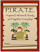 PIRATE Binder Cover & PIRATE Rules {Pirate Theme}