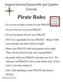 PIRATE Binder Rules for PIRATE Binder