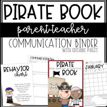 PIRATE Communication Binder - EDITABLE