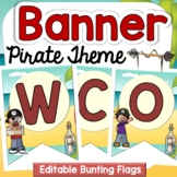 PIRATE CLASS DECOR: WELCOME BACK BANNER