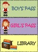 PIRATE Hall Passes