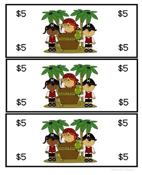 Pirates Classroom Management Rewards and Behavior Set