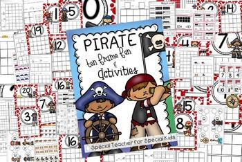 PIRATE MATH Ten Frame Fun Activities and Printables