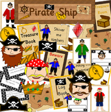 PIRATE SHIP role play unit- dramatic play