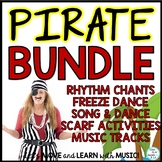 Pirate Songs, Dance, Chants Music Activities Lesson Bundle