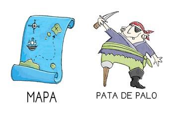 PIRATE SPANISH VOCABULARY