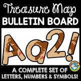 PIRATE THEME CLASSROOM DECOR (TREASURE MAP BULLETIN BOARD