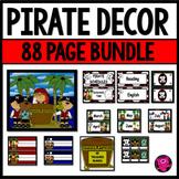 Pirates Theme Back to School Decor Bundle