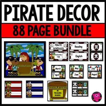 Pirates Themed Decor Bundle