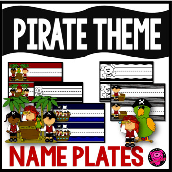 Pirates Desk Plates and Name Plates