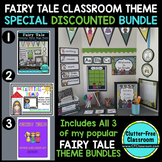 FAIRY TALE THEME Decor EDITABLE 3 PRODUCT BUNDLE