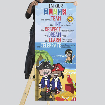 PIRATE kids - Classroom Decor: LARGE BANNER, In Our Class