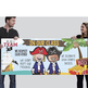 PIRATE kids - Classroom Decor: LARGE BANNER, In Our Class - horizontal
