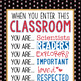 PIRATES AHOY - Classroom Decor: SMALL BANNER, When You Enter This Classroom