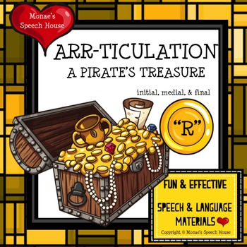 PIRATES ARTICULATION SPEECH THERAPY