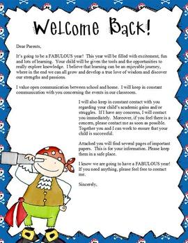 PIRATES - Back to School Activity Pack , Classroom Economy, EDITABLE