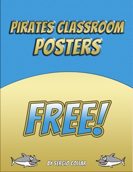PIRATES CLASSROOM POSTERS – FREE
