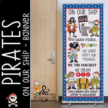 Pirate Door Decorations Worksheets Teaching Resources Tpt