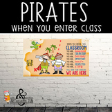 PIRATES - Classroom Decor: SMALL BANNER, When You Enter ...