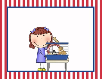 PIRATES - Classroom Helpers JOBS clip chart