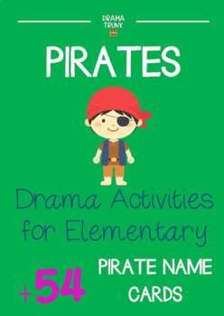 PIRATES Drama Cards + Pirate Drama Activities