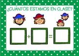PIRATES Go to School List / Pasar LISTA ALUMNOS (Español e